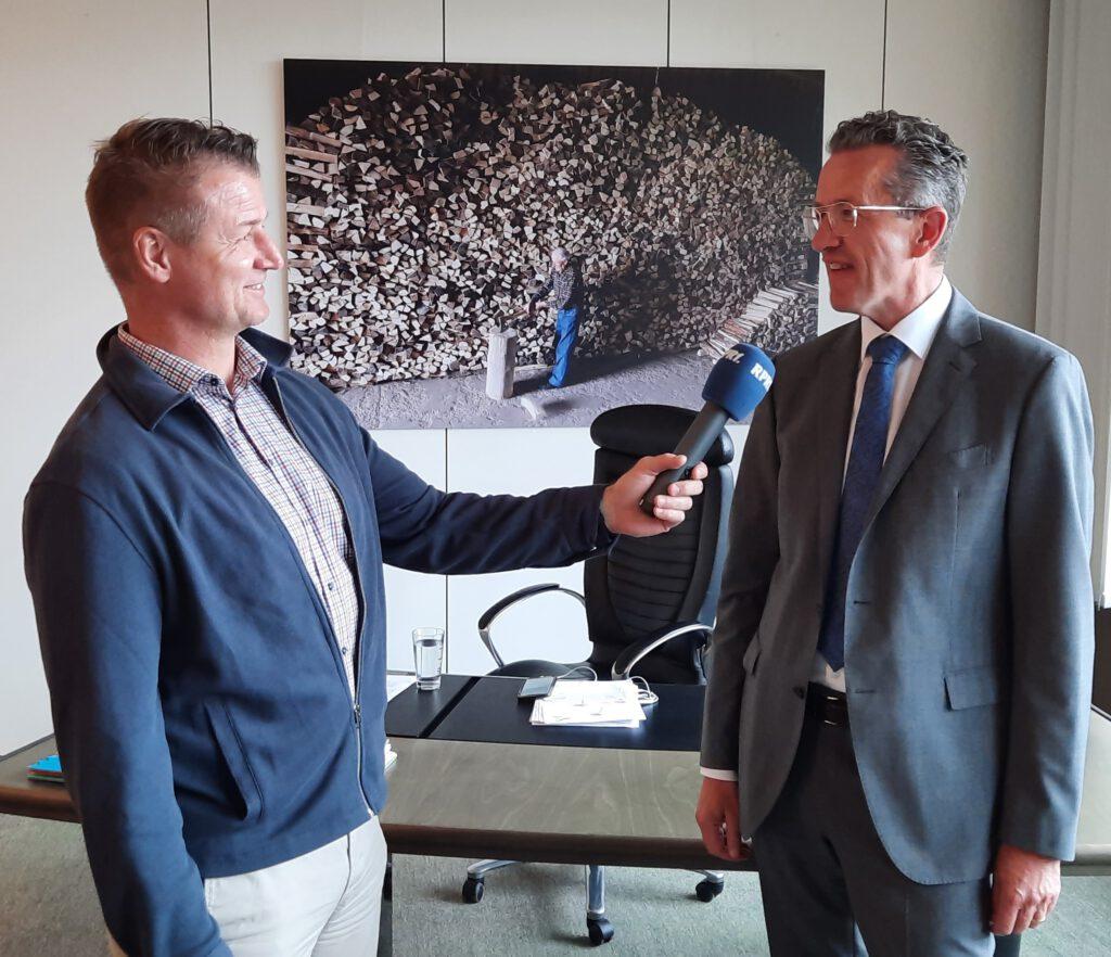 Joachim Streit im RPR Interview