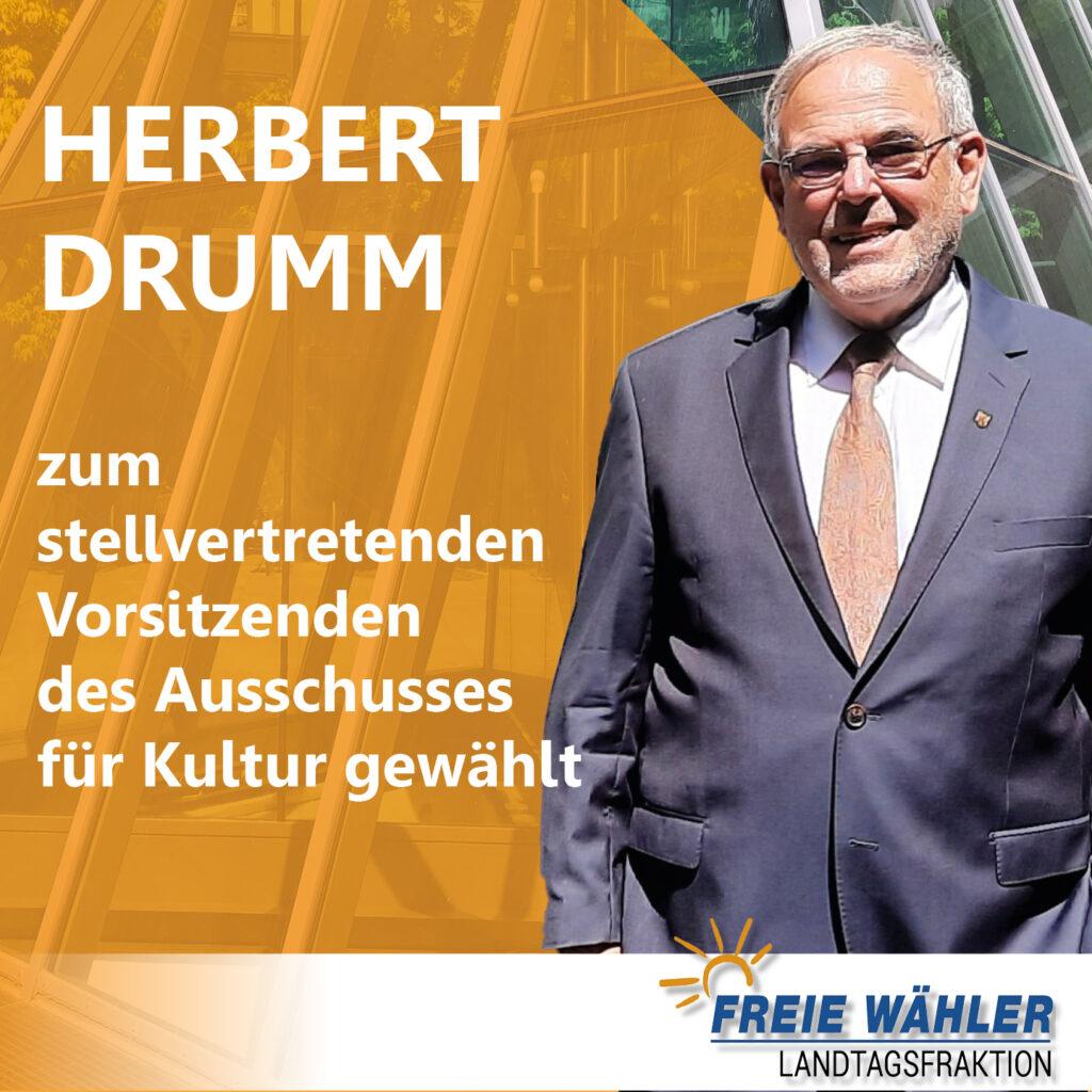 Herbert Drumm Kulturausschuss Landtag