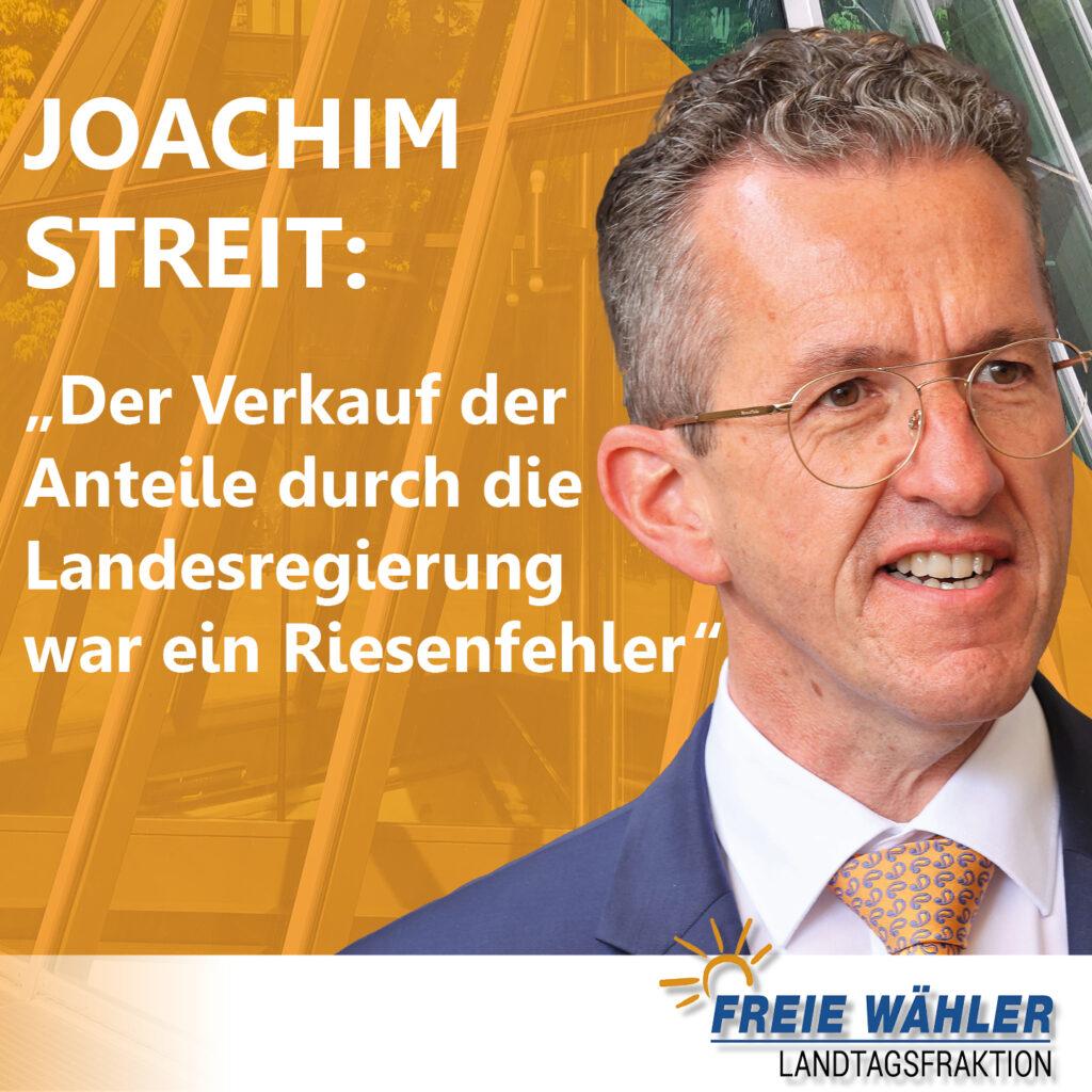 Joachim Streit zum Insolvenzantrag zum Flughafen Hahn